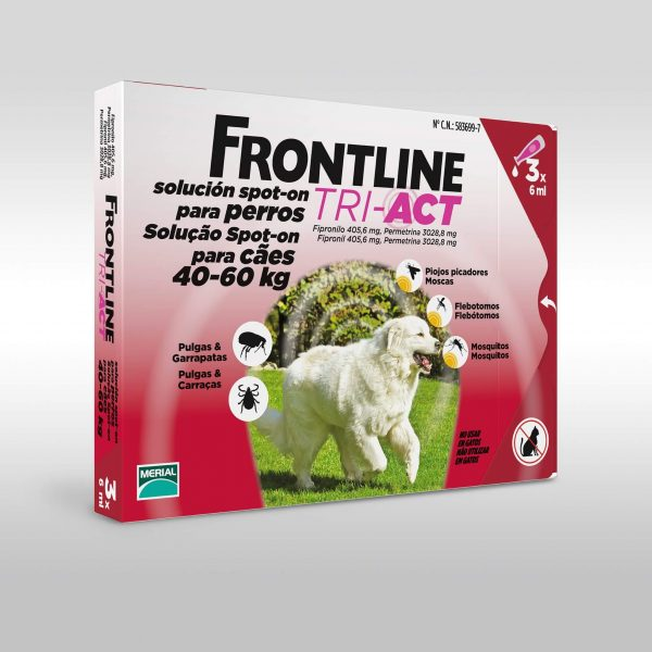 Frontline Tri Act Cani 40-60 kg