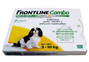 Frontline Combo Cani 2-10 kg