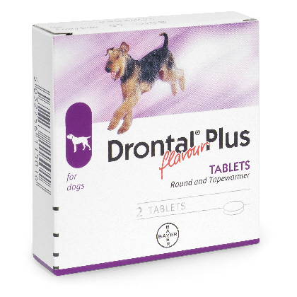 Drontal Plus Cane Flavour 2cpr